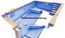 Schwimmbadbau wellness schwimmbadfolierung for Pool mit folie auskleiden