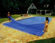 Schwimmbadabdeckung, Solarnoppenfolie
