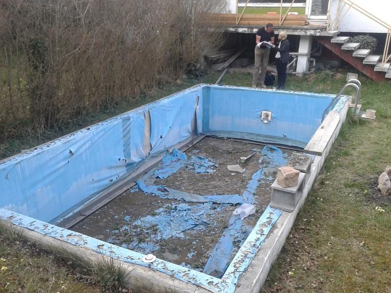 Wir sind ihr fachbetrieb zur betonbecken sanierung for Pool folieren