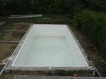 Betonbecken mit Schwimmbadfolie